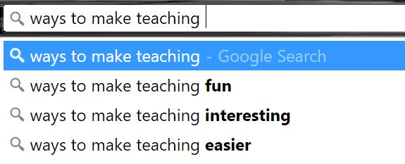 Google Search-Making teaching easier02